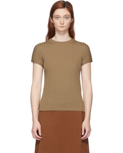 С рукавами рубашка с коротким рукавом с воротником с лебяжьим пухом Studio Nicholson