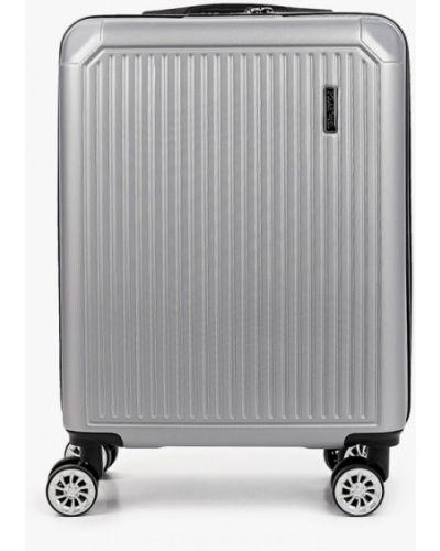 Серый чемодан Polar