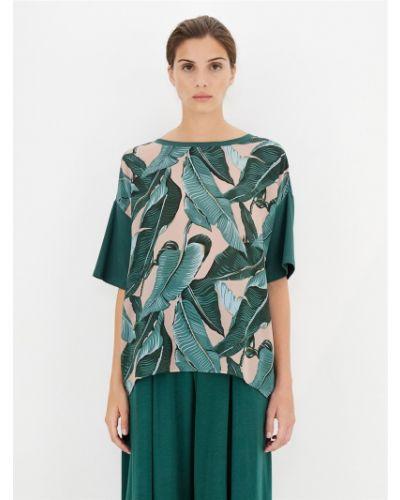 Зеленая блузка Maxmara