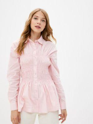 Рубашка с длинным рукавом - розовая Gloss