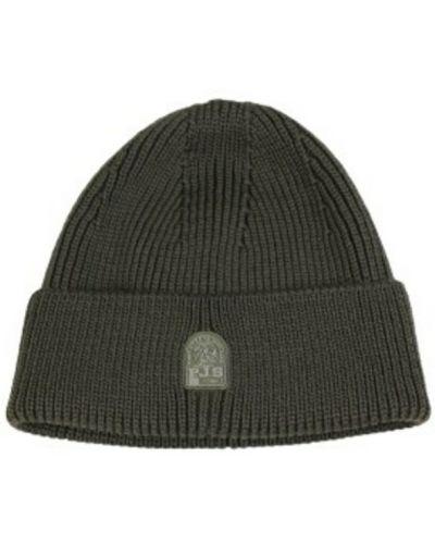 Zielona czapka beanie Parajumpers