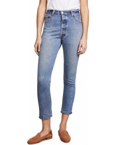 Mom jeans vintage - niebieskie Re/done