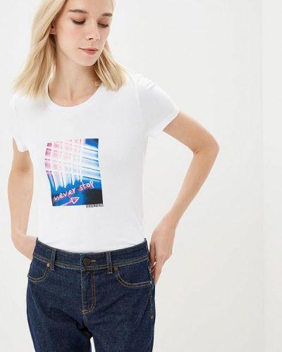 Белая футболка 2019 Bikkembergs