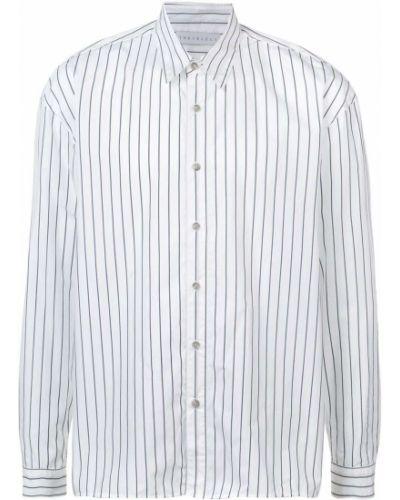 Черная приталенная классическая рубашка с воротником с нашивками The Celect