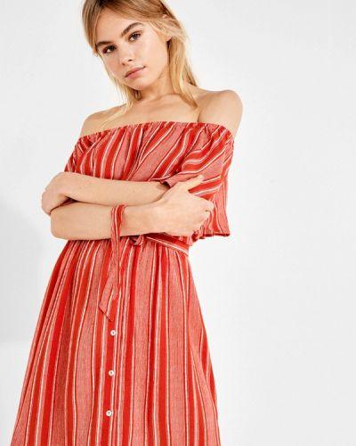 Платье весеннее красный Women'secret