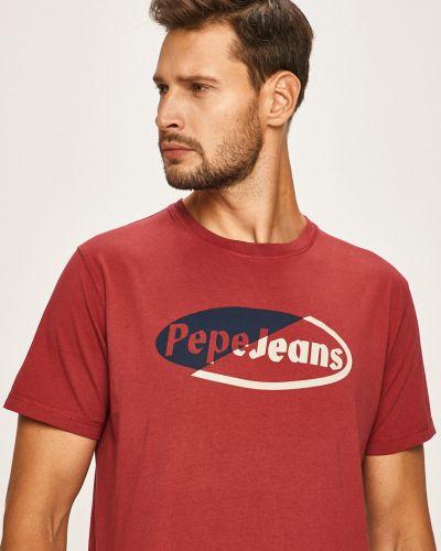 Koszula dzinsowa na gumce z wzorem Pepe Jeans