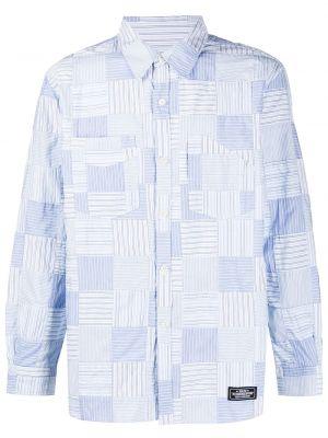Koszula z długim rękawem klasyczna niebieski Neighborhood