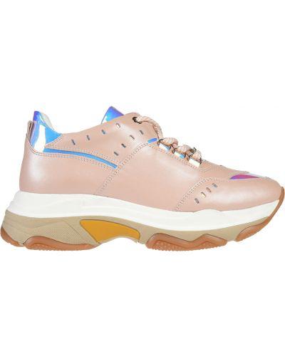Кроссовки на платформе розовый Roberto Serpentini