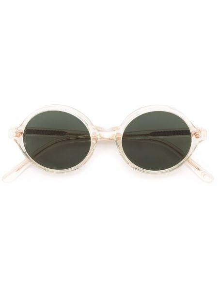 Муслиновые бежевые солнцезащитные очки Han Kjøbenhavn