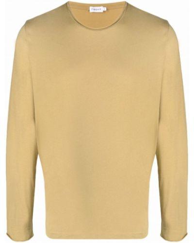 Koszulka bawełniana - khaki Filippa K