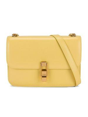 Кожаный ранец с карманами на молнии Saint Laurent