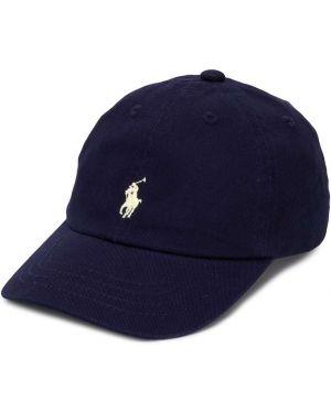 Czapka z logo ciemnoniebieski Ralph Lauren Kids