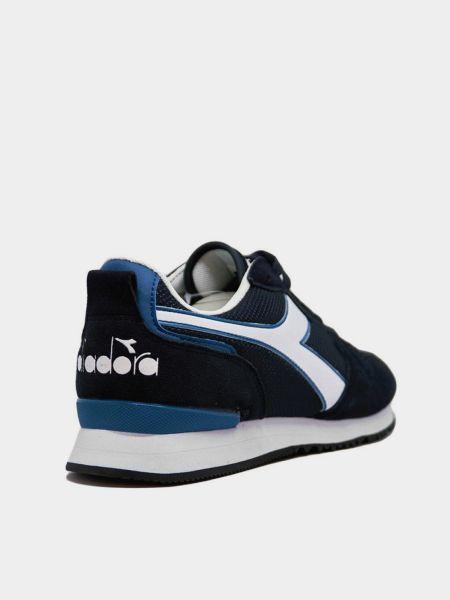 Кожаные кроссовки - серые Diadora