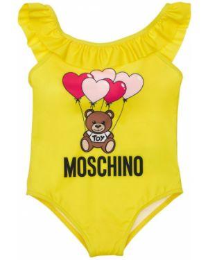 Strój kąpielowy z nadrukiem z logo Moschino