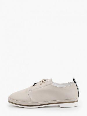 Серые кожаные ботинки Shoiberg