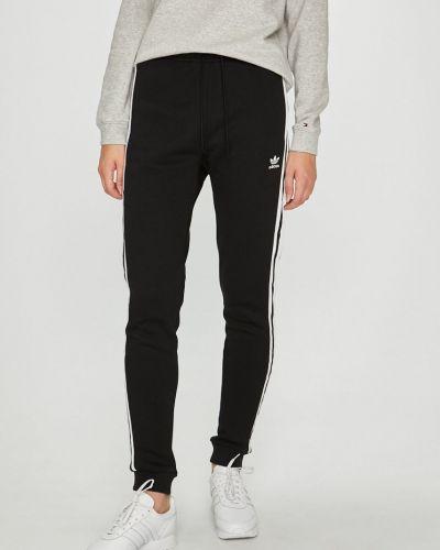 Брюки на резинке с карманами свободные Adidas Originals
