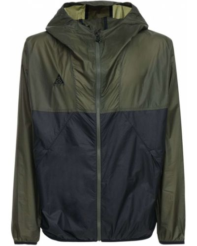 Куртка с капюшоном - зеленая Nike Acg