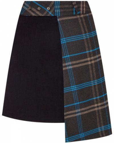 Юбка мини шотландка асимметричная Mardo._