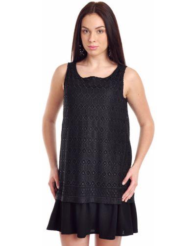 Платье из полиэстера - черное Ba&sh