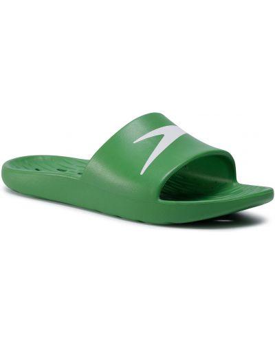 Zielone klapki Speedo