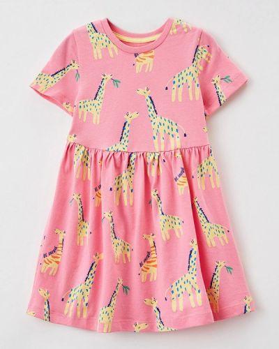 Повседневное розовое платье Marks & Spencer