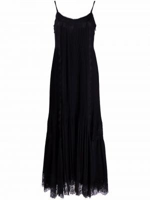 Платье макси длинное - черное Twinset