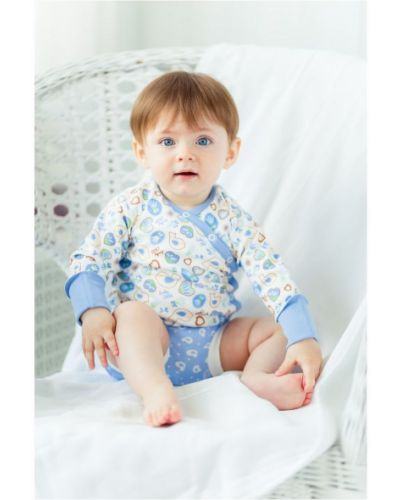 Распашонка айвори молочный Lucky Child