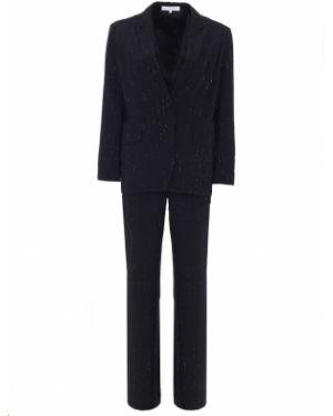 Шелковый костюм - черный Alexander Terekhov