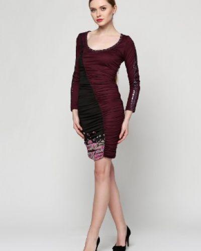 Платье - бордовое Custo Barcelona