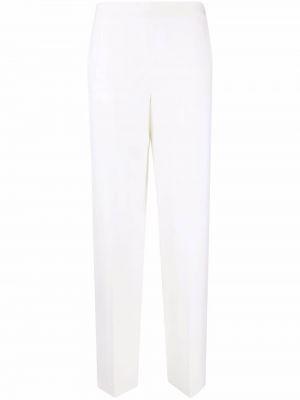 Белые брюки с завышенной талией Maison Rabih Kayrouz