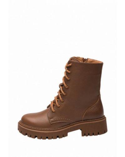 Кожаные ботинки - коричневые Bosser