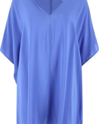 Свободное пляжное синее платье Joss