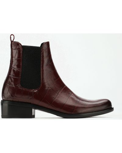 Ботинки - бордовые Gino Rossi