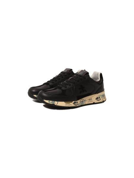 Кожаные кроссовки с подкладкой Premiata