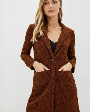Пальто - коричневое Nice & Chic