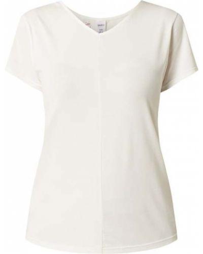 Biała piżama bawełniana krótki rękaw Skiny