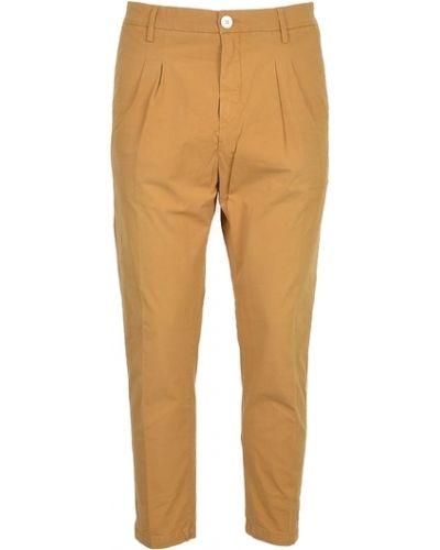 Brązowe spodnie Aglini