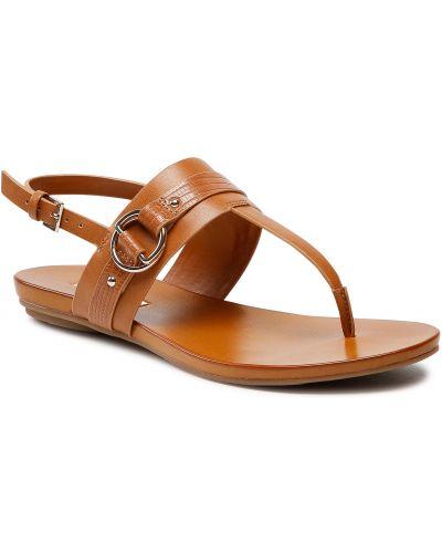 Brązowe sandały casual Aldo