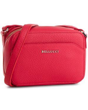 Czerwona torebka Bellucci