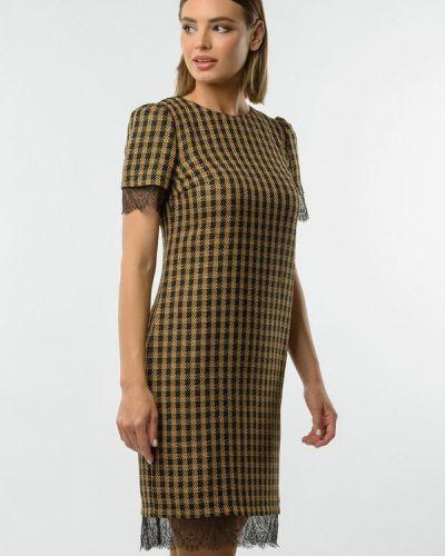 Повседневное желтое повседневное платье Remix