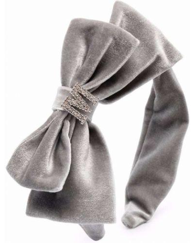 Opaska do włosów srebrne Monnalisa