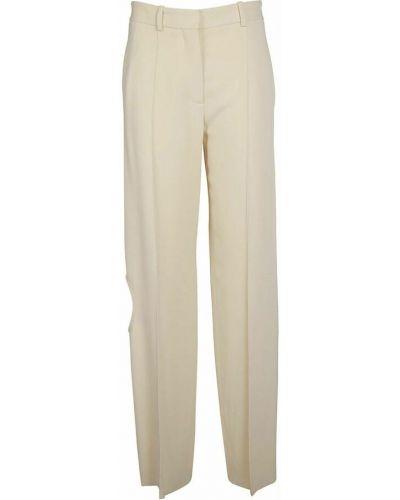 Spodnie - beżowe Victoria Beckham