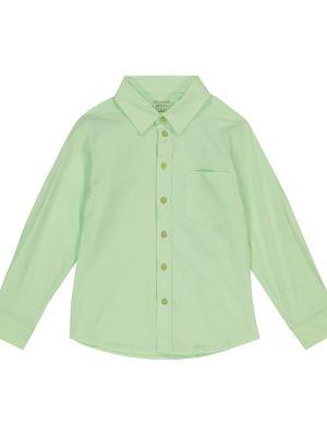 Zielona koszula bawełniana Morley