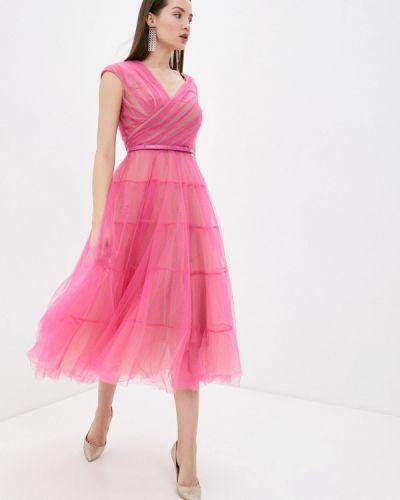 Розовое вечернее платье Rich & Naked