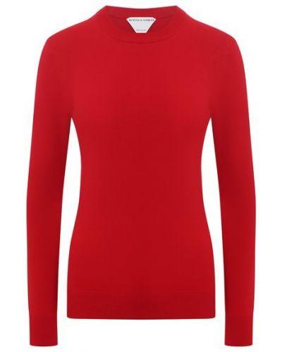 Трикотажный пуловер - красный Bottega Veneta