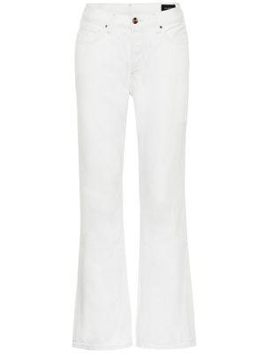 Широкие джинсы укороченные расклешенные Goldsign