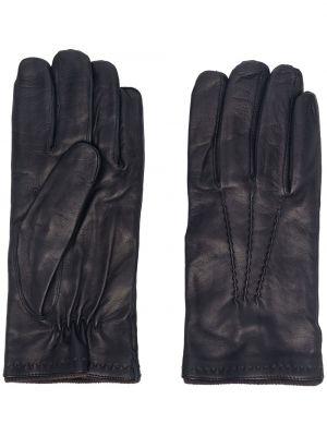 Niebieskie rękawiczki skorzane Lady Anne