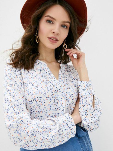 Блузка с длинным рукавом белая весенний S.oliver