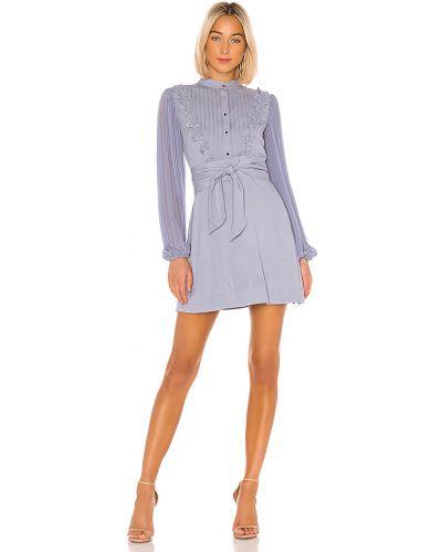 Sukienka mini z guzikami codzienna Keepsake