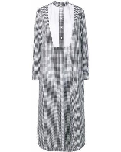 Платье на пуговицах свободного кроя Calvin Klein